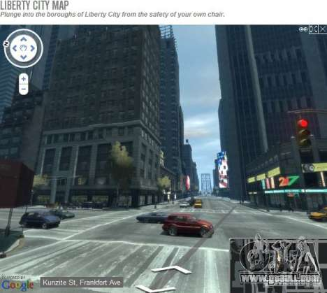 Live map of liberty city
