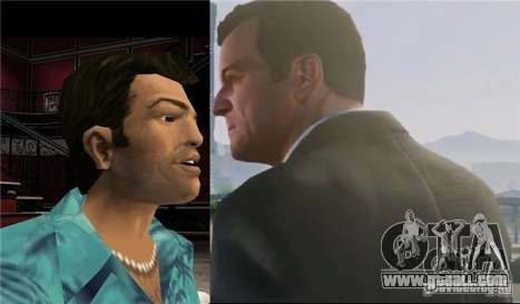 Truth or fiction that the main hero of the GTA 5 will be Tommy Vercetti?