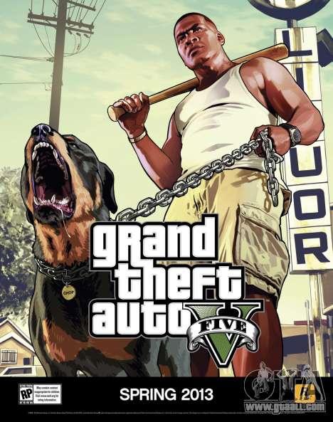 Пара новых постеров GTA 5