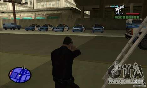 San Andreas Multiplayer: ingame screenshot