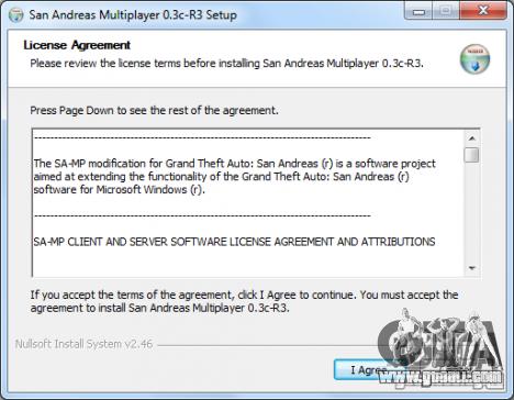 Launch window installer SAMP