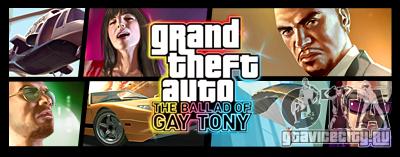 Обзор GTA 4 The Ballad Of Gay Tony