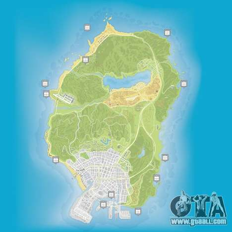 Map hidden packages in Grand Theft Auto 5