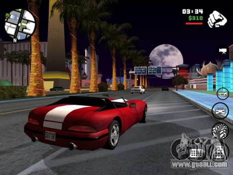 Grand Theft Auto San Andreas for iOS screenshot