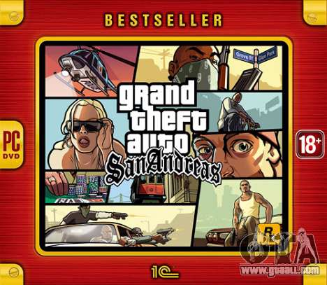 GTA San Andreas - best-seller