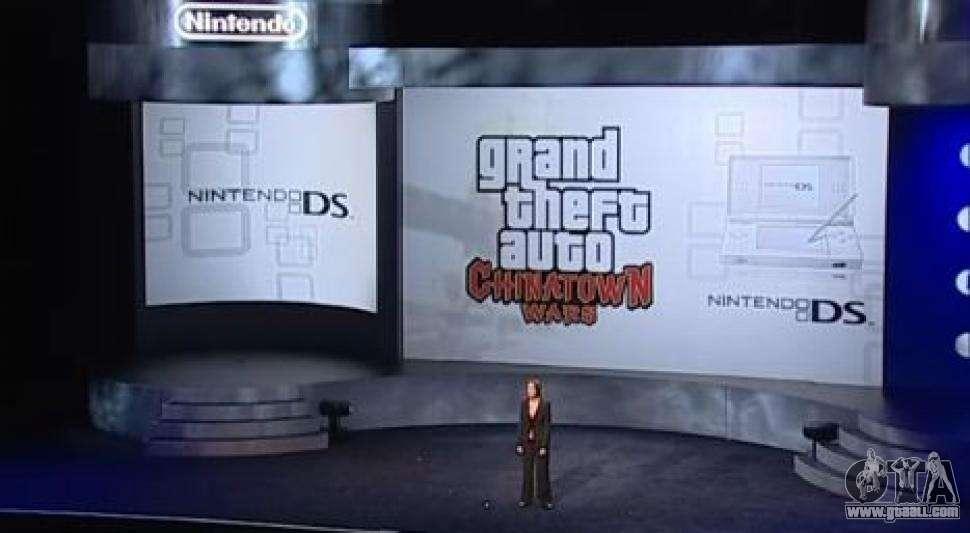 o lançamento Europeu do GTA CW para NDS: depois de 5 anos de idade