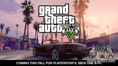 release date Announced GTA 5 on PC, Xbox One and PlayStation 4!