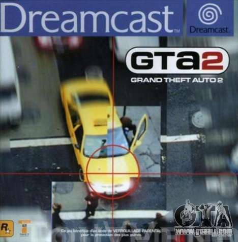GTA 2 for the Dreamcast in Europe: the beginning of the 21st century