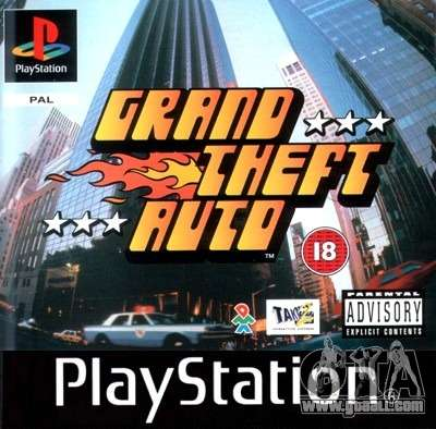 Releases of the 90's: GTA 1 for PS in Japan