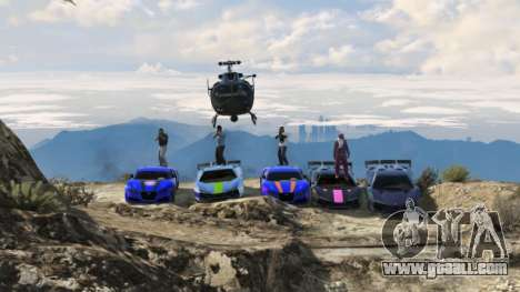 GTA Online Team: chaos and security