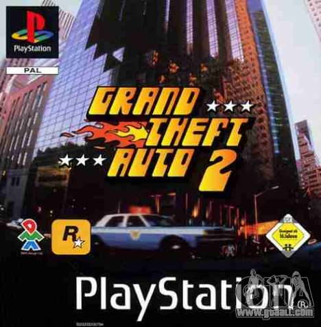 Releases GTA 2: the PS version in North America