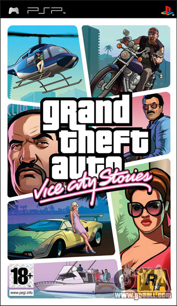 GTA VCS in Japan: the release of PSP-port