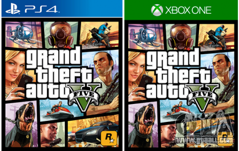 GTA 5 available on the PS 4 and Xbox One
