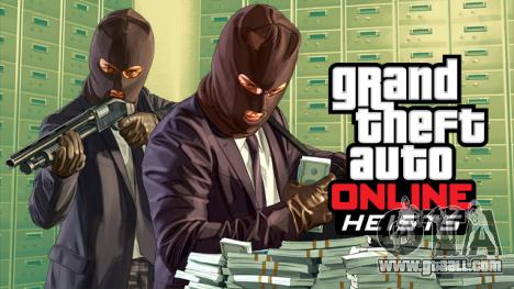update is Released GTA Online Heists