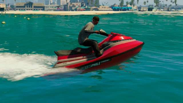 Speedophile Seashark from GTA 5