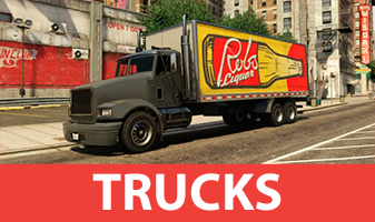 Trucks from GTA 5