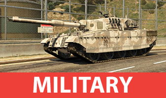 Military vehicles from GTA 5
