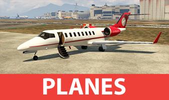 GTA 5 planes