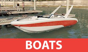 GTA 5 bateaux