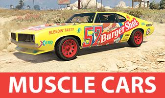 GTA 5 Muscle Cars