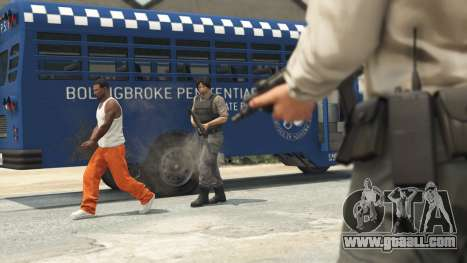 Prison Break heist in GTA Online