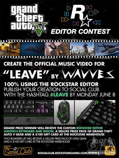 Rockstar Contest Editor: clip by Wavves