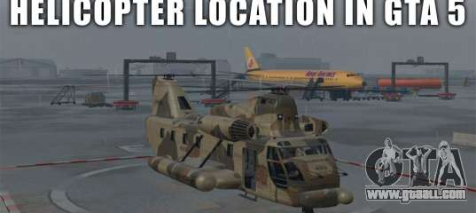 Helicopter Locations In Gta 5 And Gta Online