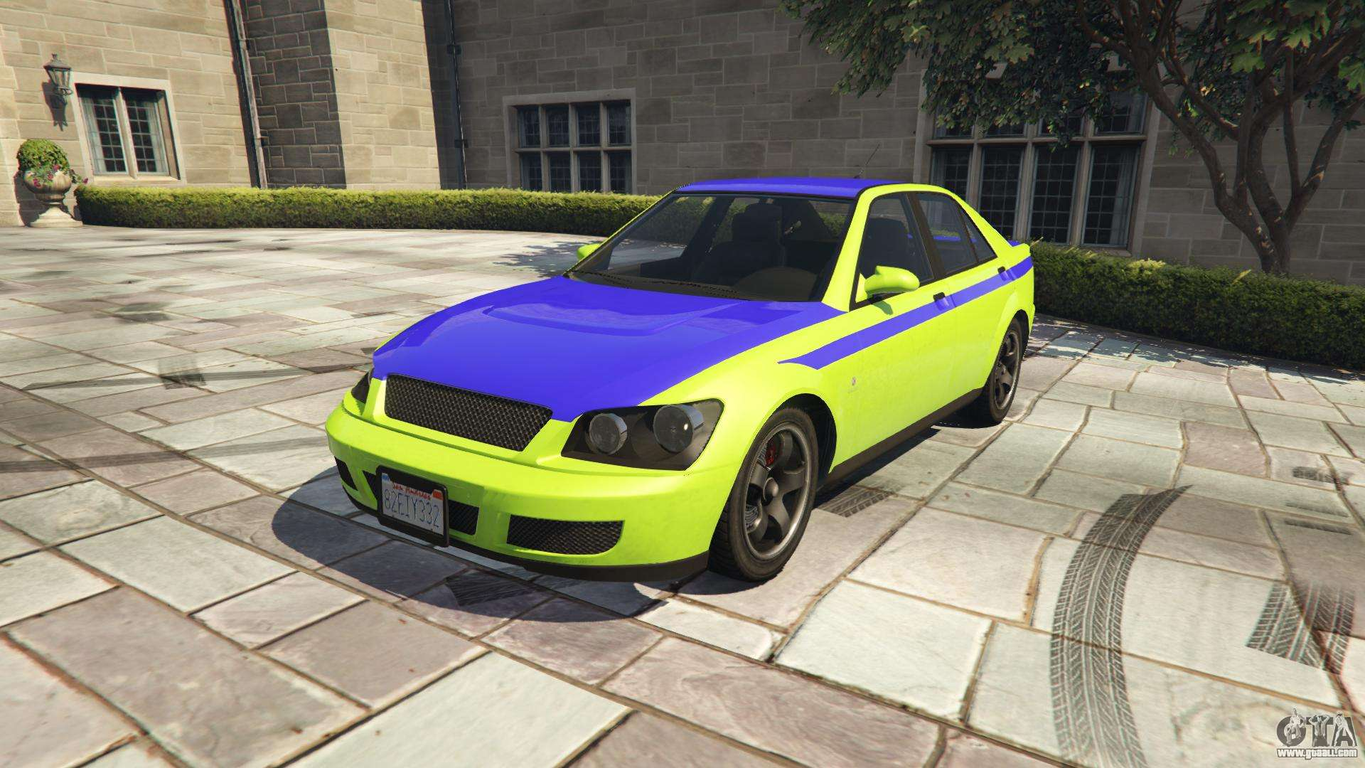 Karin Sultan GTA 5 - front view