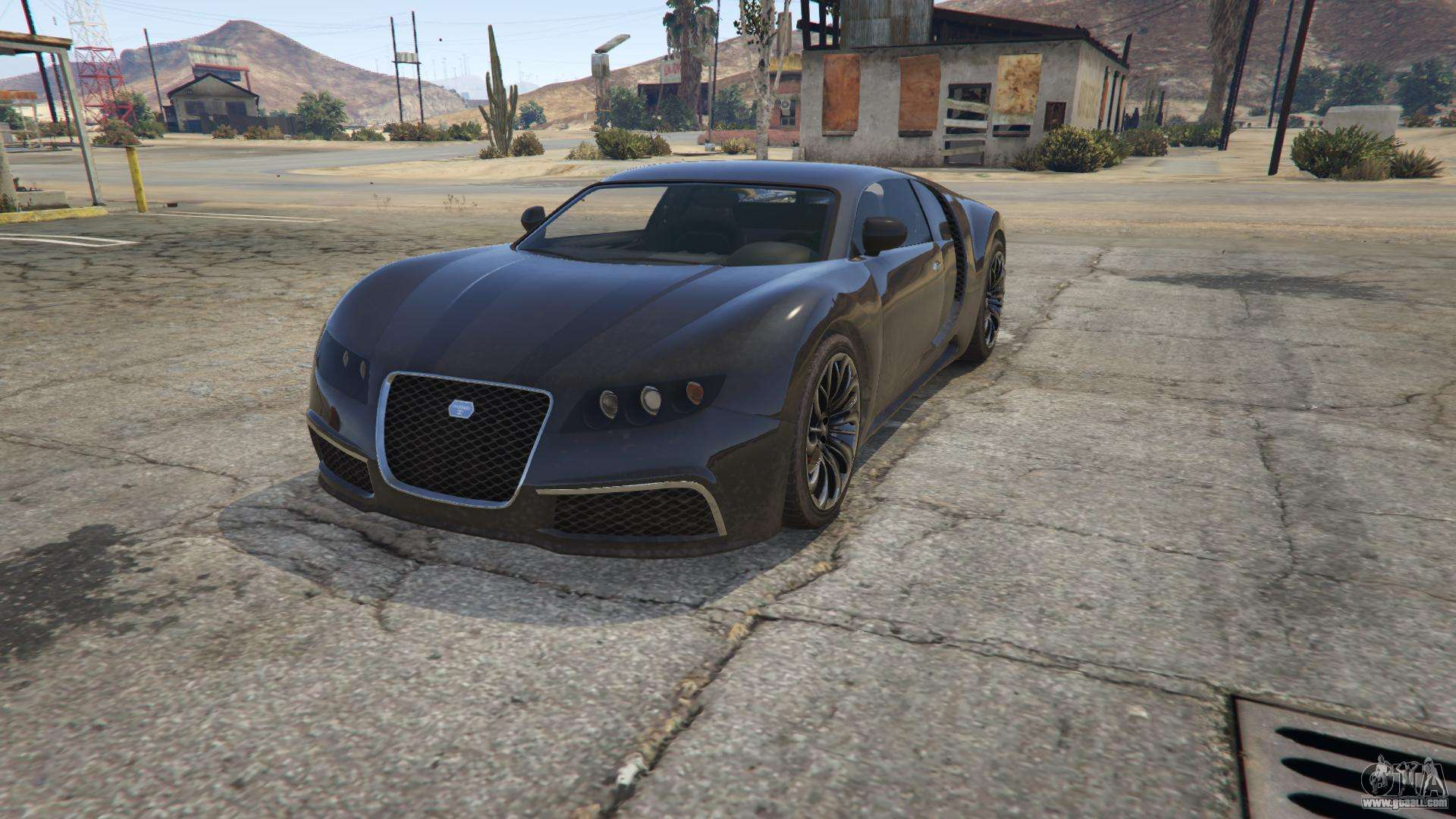 Truffade Adder from GTA 5 - front view
