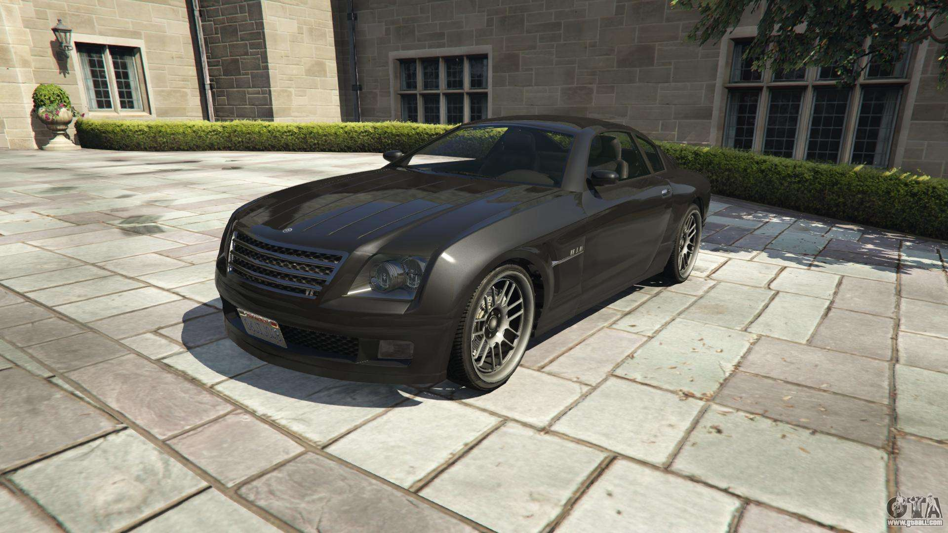 Shyster Fusilade of GTA 5 - front view