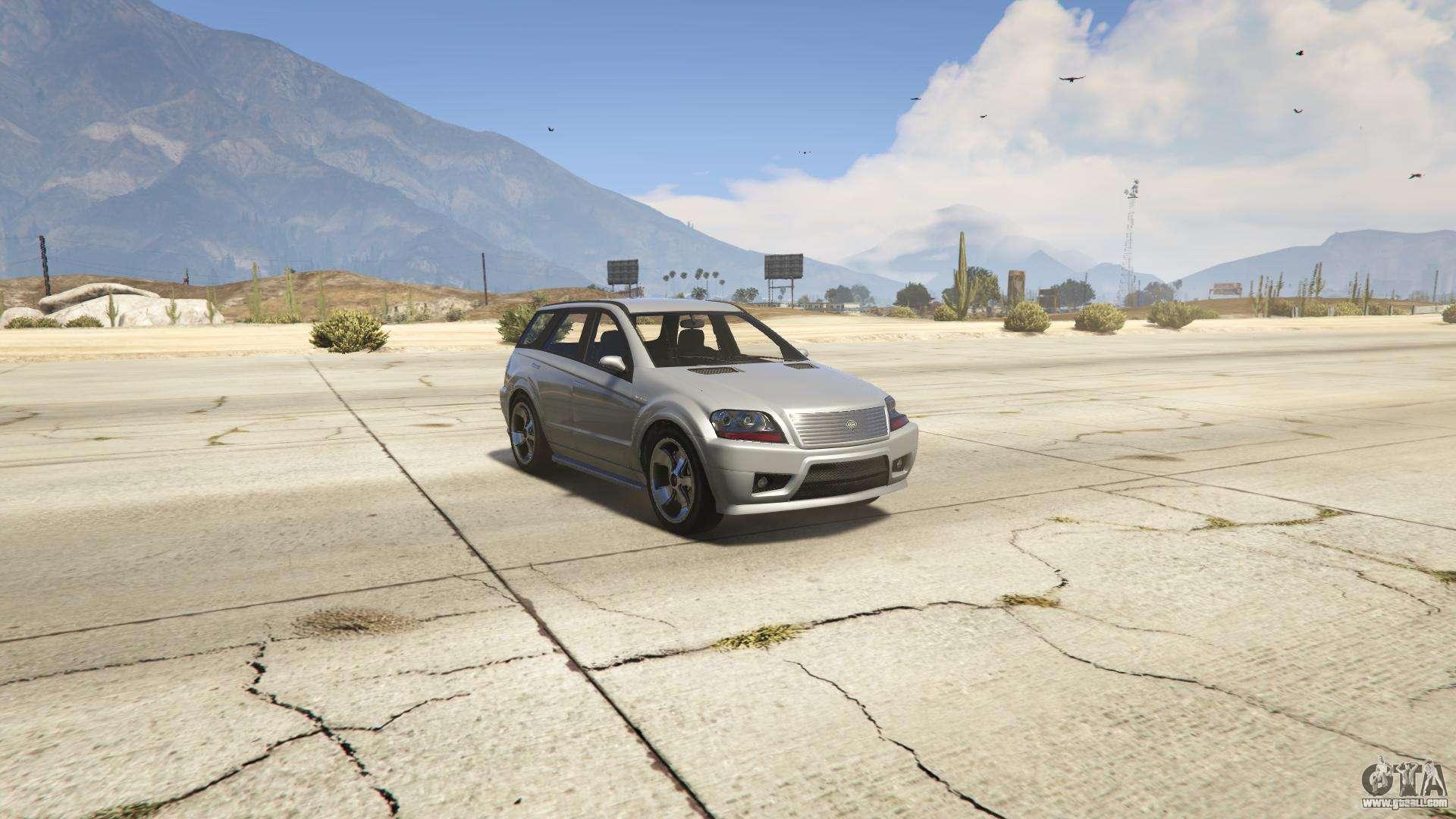GTA 5 Benefactor Serrano - front view