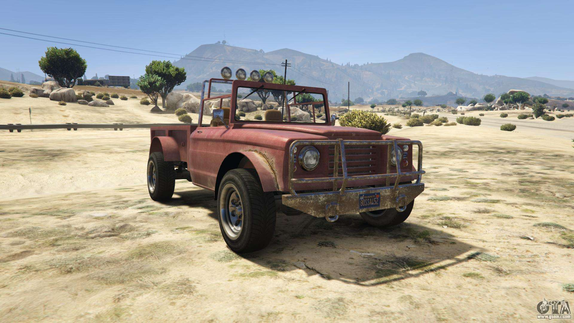 GTA 5 Canis Bodhi - front view