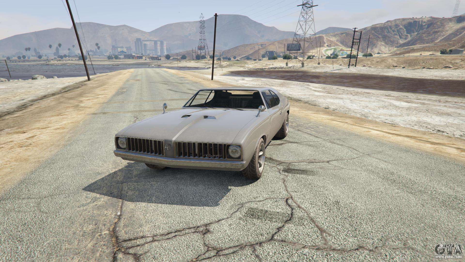 Stallion from GTA 5 - front view