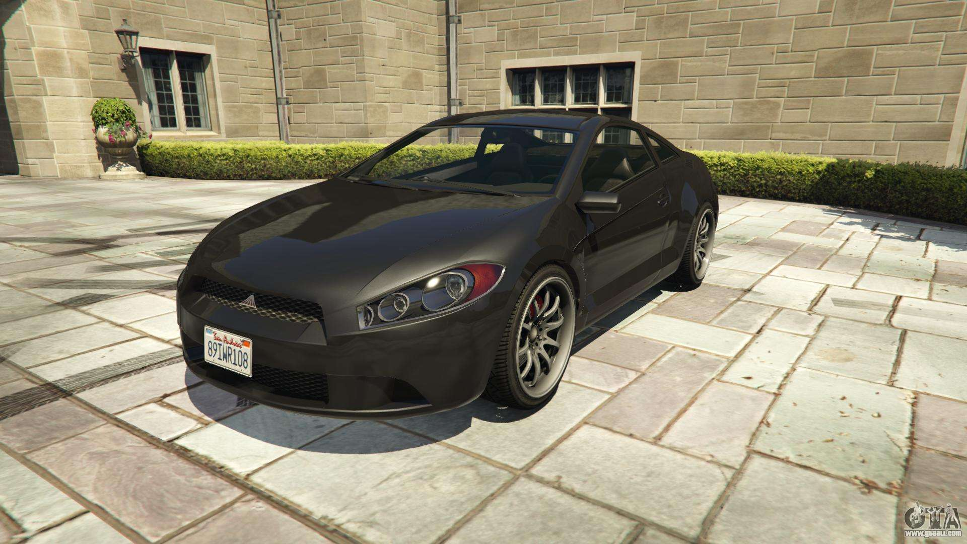 Maibatsu Penumbra GTA 5 - front view