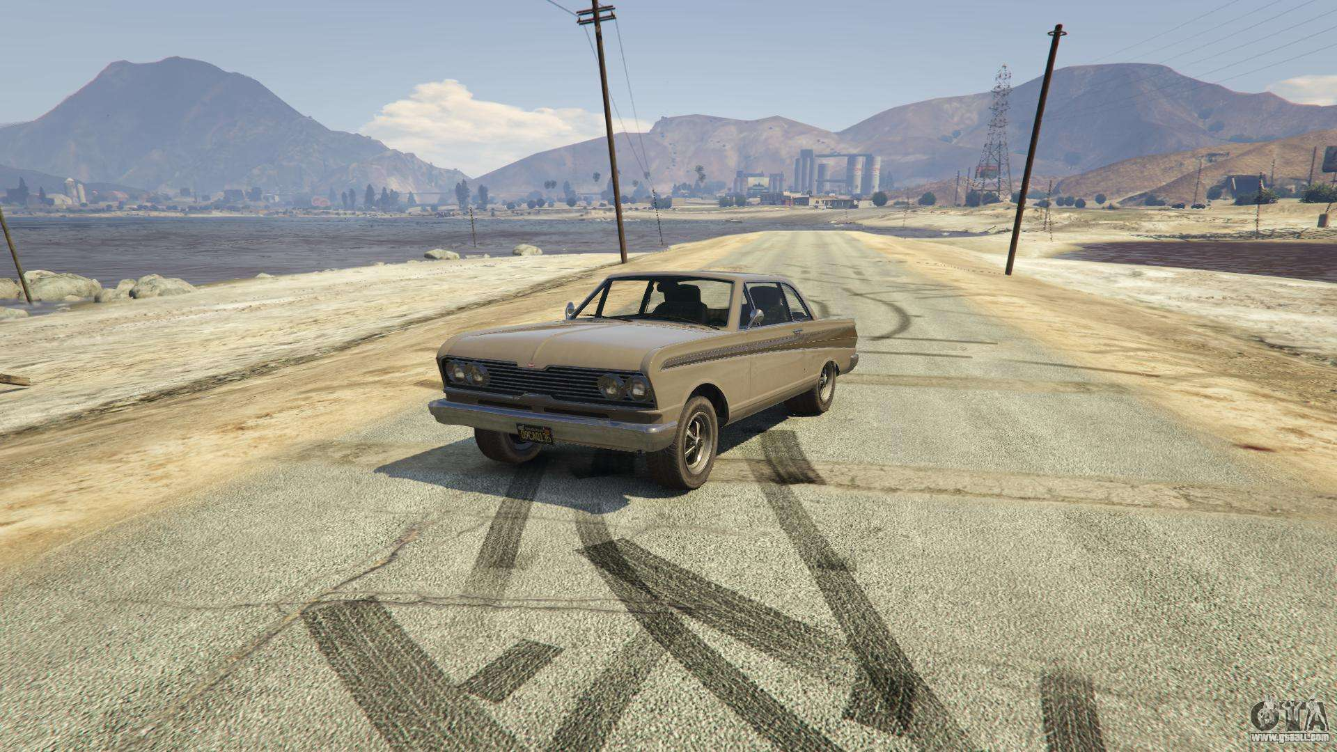 Vapid Blade GTA 5 - front view