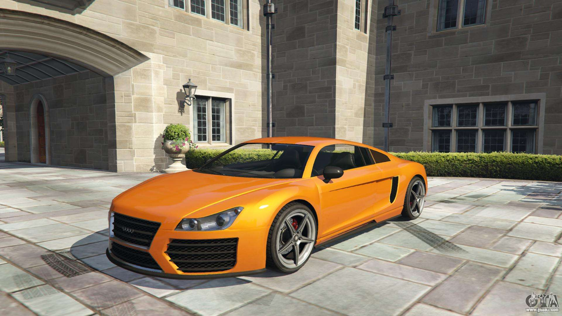 Obey 9F GTA 5 - front view