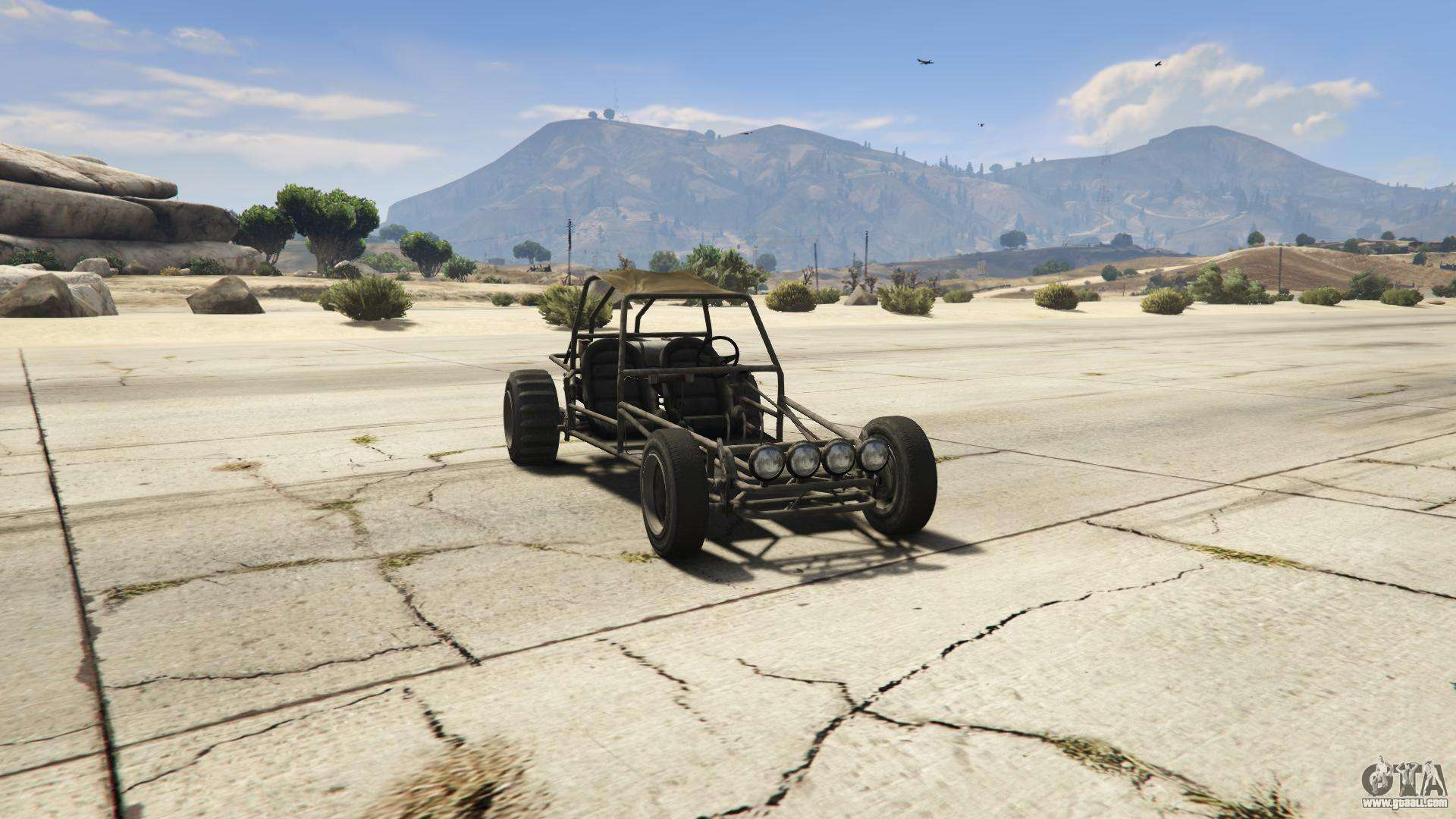 GTA 5 BF Dune Buggy - front view