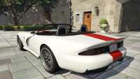 Bravado Banshee Topless from GTA 5 - rear view