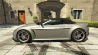 Dewbauchee Rapid GT Convertible from GTA 5 - side view