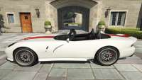 Bravado Banshee Topless from GTA 5 - side view