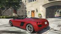Obey 9F Cabrio GTA 5 - rear view