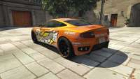 Dewbauchee Massacro Racecar from GTA 5 - rear view