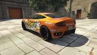 Dewbauchee Massacro Racecar from GTA 5 - rear view