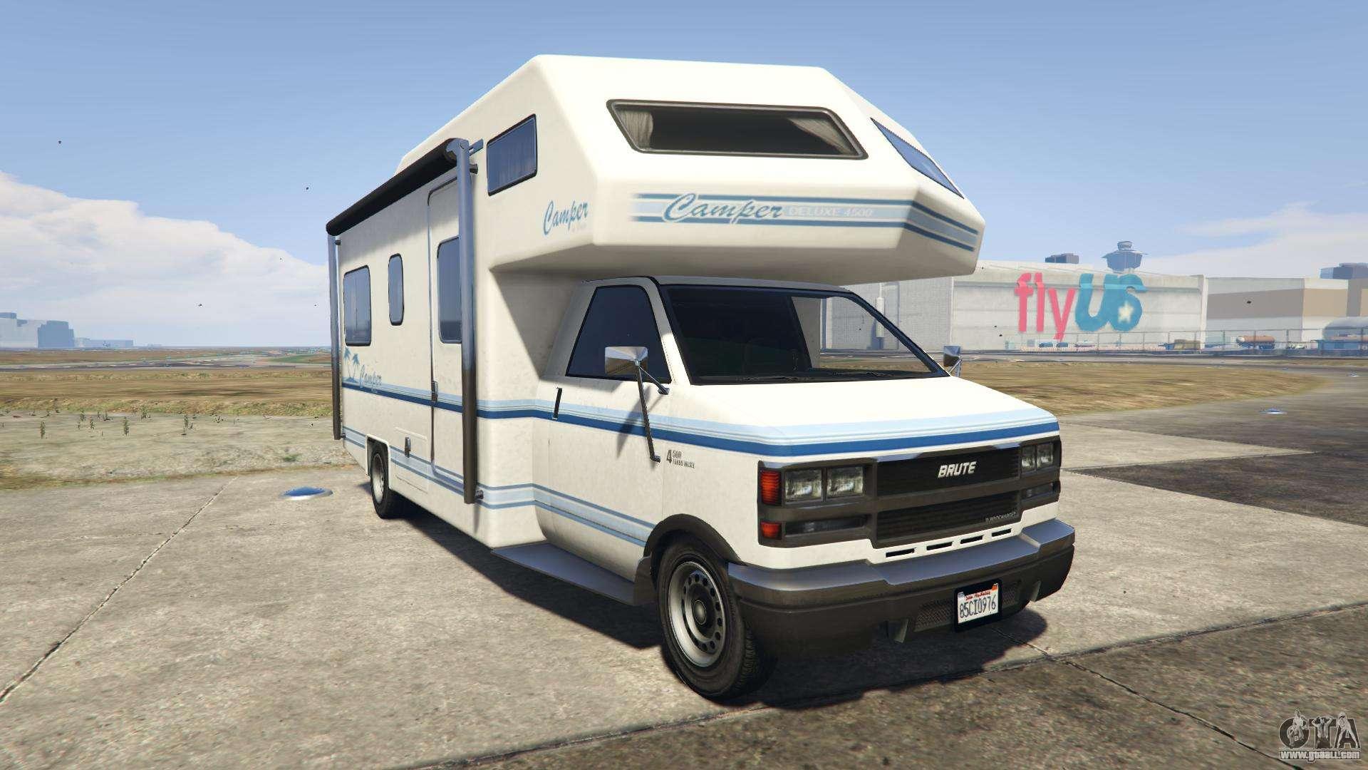 GTA 5 Brute Camper - front view