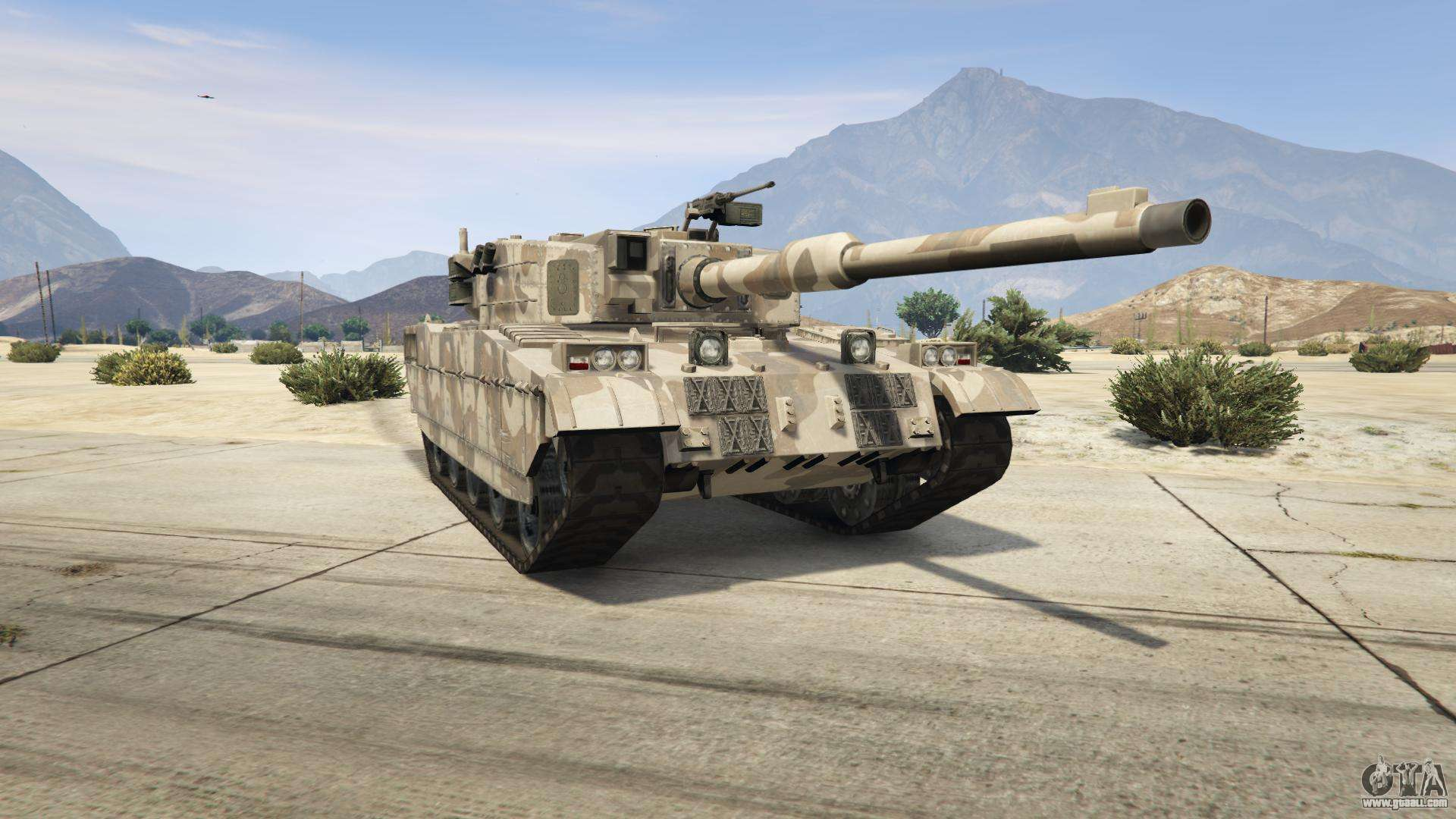 gta 5 rhino description characteristics screenshots of