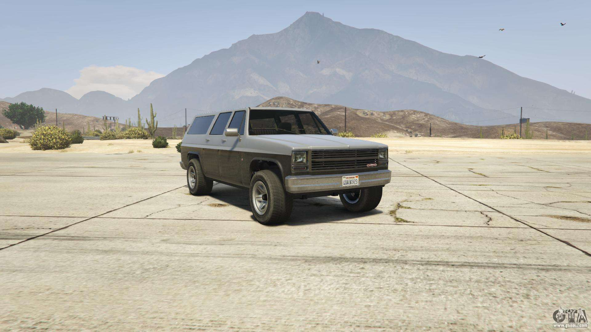 GTA 5 Declasse Rancher XL - front view