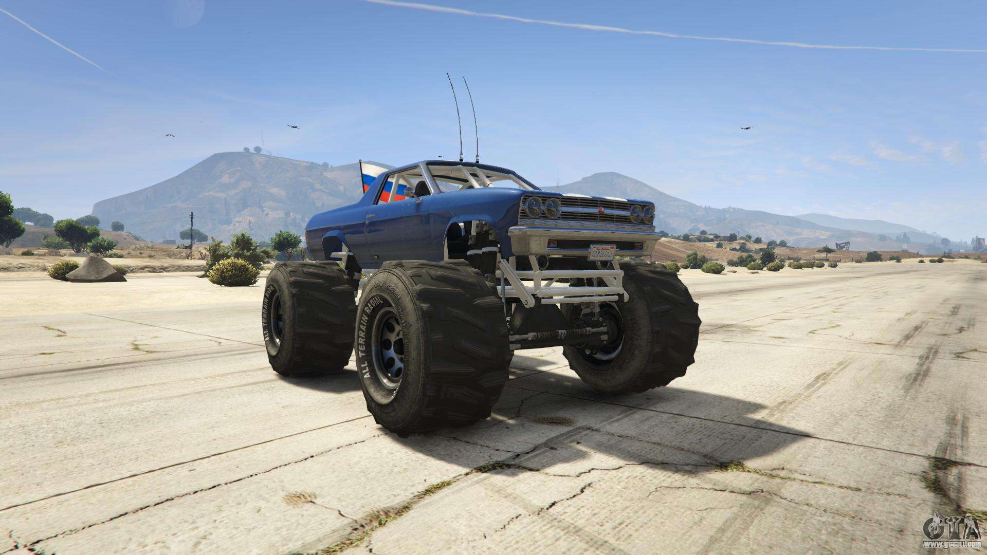 GTA 5 Cheval Marshall - front view