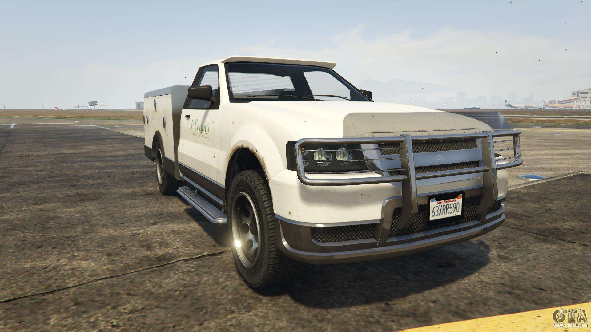 GTA 5 Vapid Utility Truck - front view