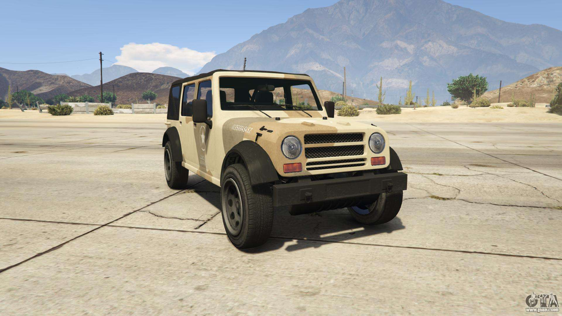 GTA 5 Canis Crusader - front view