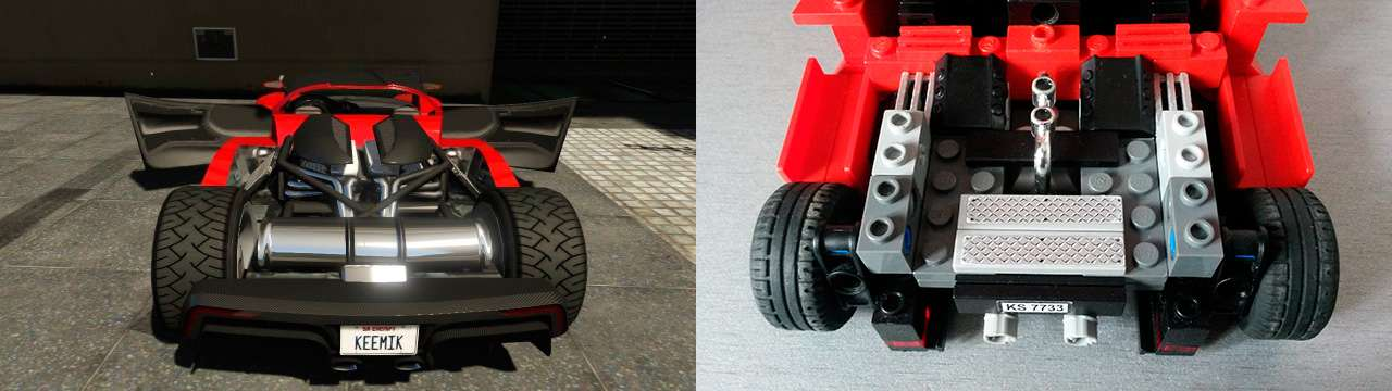 Lego Grotti Turismo R - engine